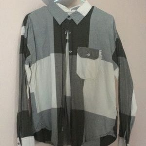 Roxy long sleeve button up