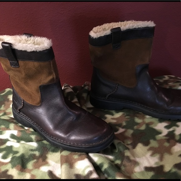 15e8fad176f6 Clark Lined Leather Boots