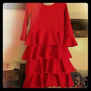 Other - Girls size 4-5 ruffled dress