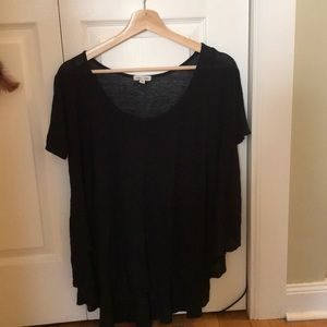 Urban outfitters loose fitting black top