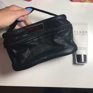 Jimmy Choo Cosmetic Bag & Jimmy Choo Flash Lotion