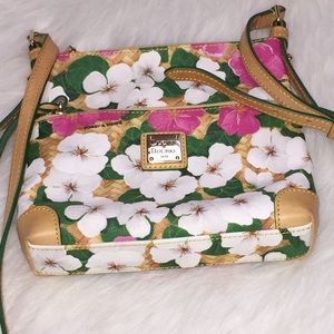 Dooney & Bourke floral crossbody purse