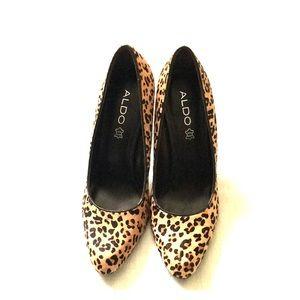 ALDO leopard pump