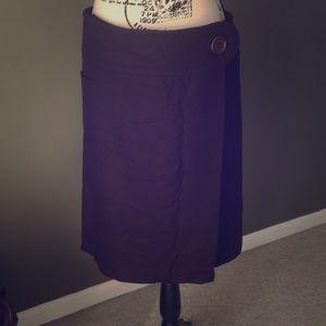 Brown winter skirt