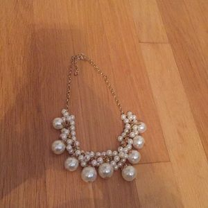 Jcrew pearl statement necklace