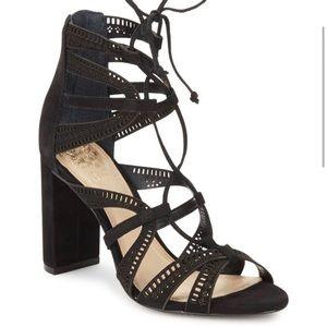 [Vince Camuto] NEW Black Mindie Heels Size 9