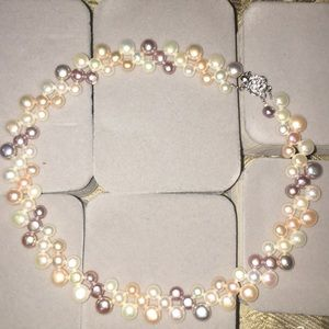 Gorgeous great quality multicolor pearls