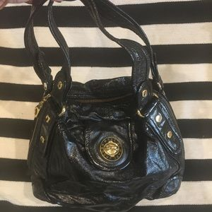 Marc by Marc Jacobs large bag patent leather black