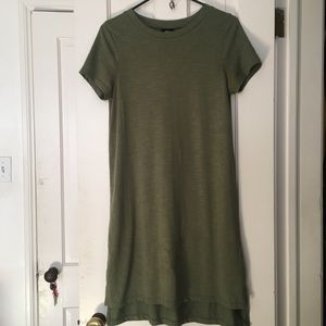 Olive green Target Mossimo T-shirt Dress