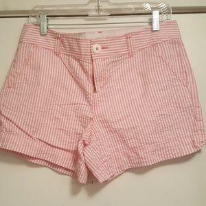 Lilly Pulitzer Callahan Shorts - Seersucker Size 8