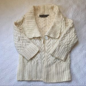 Celtic Style Cable Knit Sweater