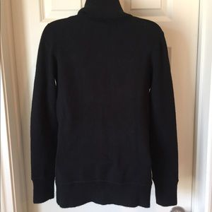 French Connection black sweater jacket size L
