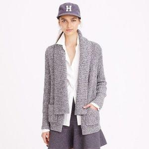 Beautiful thick knit sweater j. Crew