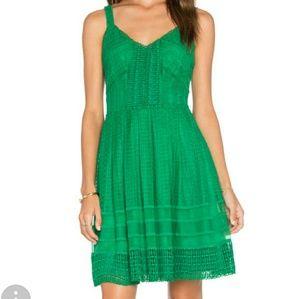 Greyline verdant green Lace Dress NWT!!  SMALL