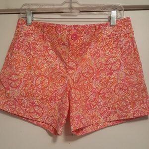 Lilly Pulitzer Callahan Shorts Size 6