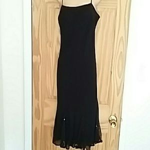 Little black dress with flare