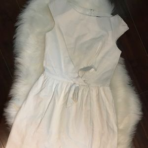 David meister Womens White Dress Size 2