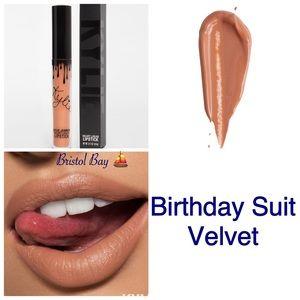Authentic Kylie Birthday Suit Velvet