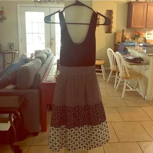 ***MOSSIMO*** Multi-pattern Tank Dress