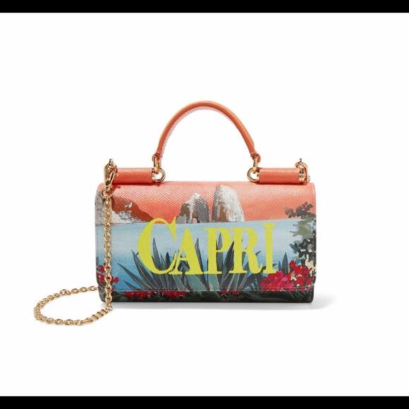 f85a448d40f3 Dolce and Gabbana Capri wallet bag 60%off