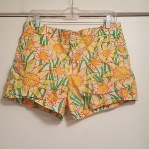 Lilly Pulitzer Callahan Shorts - Floral - Size 10