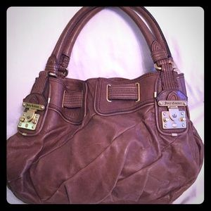 Juicy Couture Brown leather purse
