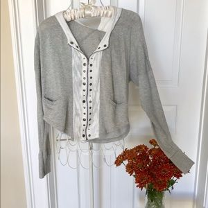 Free People hoodie sweater
