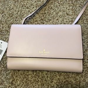 Kate Spade Winni Plum Dawn Crossbody Blush Purse