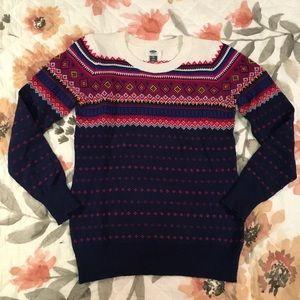 Old Navy Fair Isle Sweater