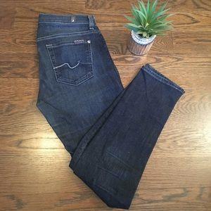 7 Blue jeans