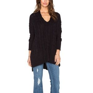 Free People Easy Cable Knit Sweater