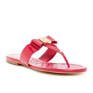 Cole Haan Tali Bow Flat sandals with bow