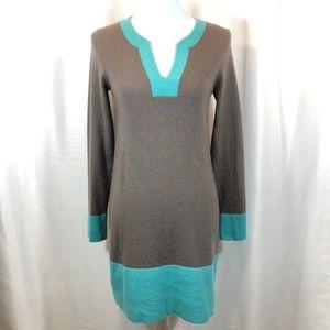 Boden Cashmere Kaftan Tunic Sweater Dress, Size 4