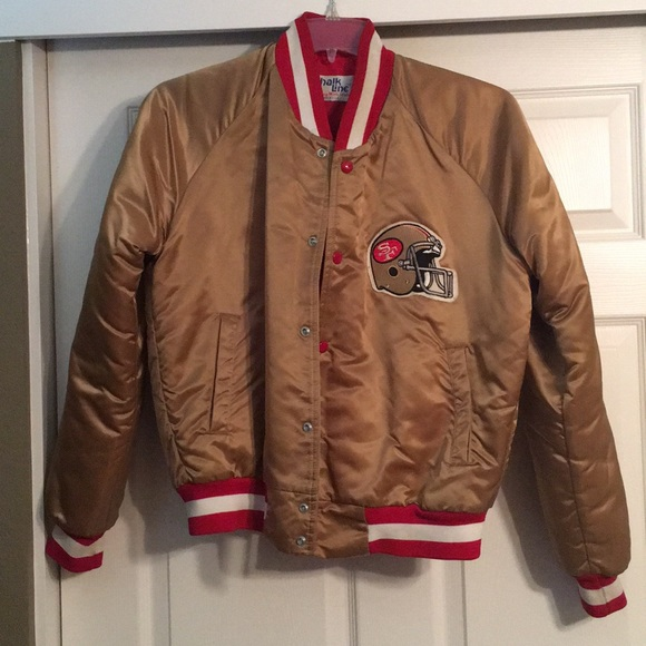 super popular f470e c647d Vintage Chalkline San Francisco 49ers jacket