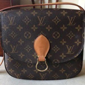 100% Authentic Louis Vuitton Saint Cloud Gm Bag!!!