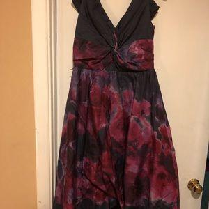 Lela Rose tea length dress