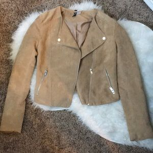 Suede H&M Moto Jacket - perfect condition!