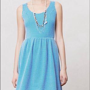 Anthropologie Polka Dot Maeve Dress