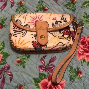 Dooney and Bourke Disney Wristlet Wallet