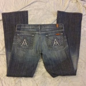 7 for All Mankind A Pocket Jeans Size 30