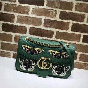Gucci GG Butterfly Shoulder Bag