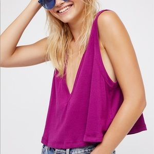 """Free People """"Baring it all"""" Top"""