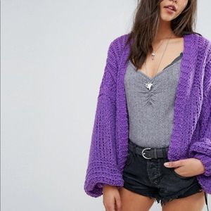 🆕Free People chamomile balloon sleeve sweater