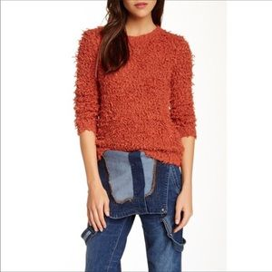 Free People Fuzzy Sweater Size M