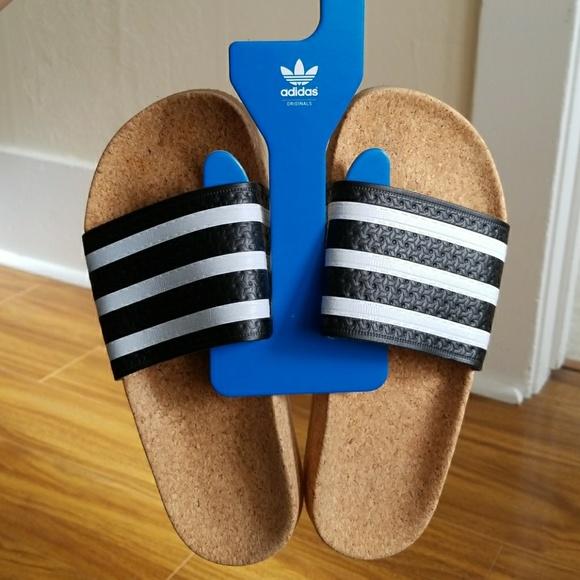 d2a2072e2 Adidas Adilette Cork Slide W Size 7