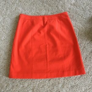 NWT Ann Taylor skirt in orange size 8