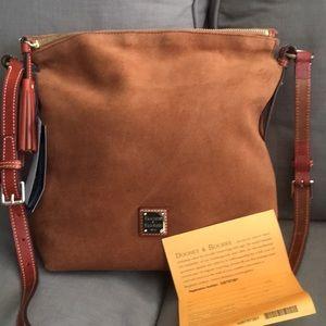 NWT Downey & Bourke satchel bag purse