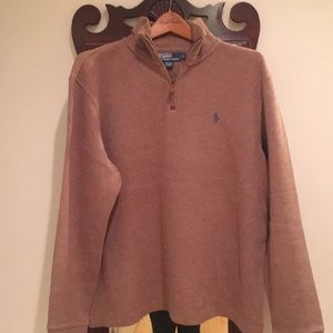 Ralph Lauren Polo quarter zip sweater