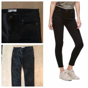 Free People Black Skinny Jeans