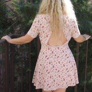NWT Pink Floral H&M Dress